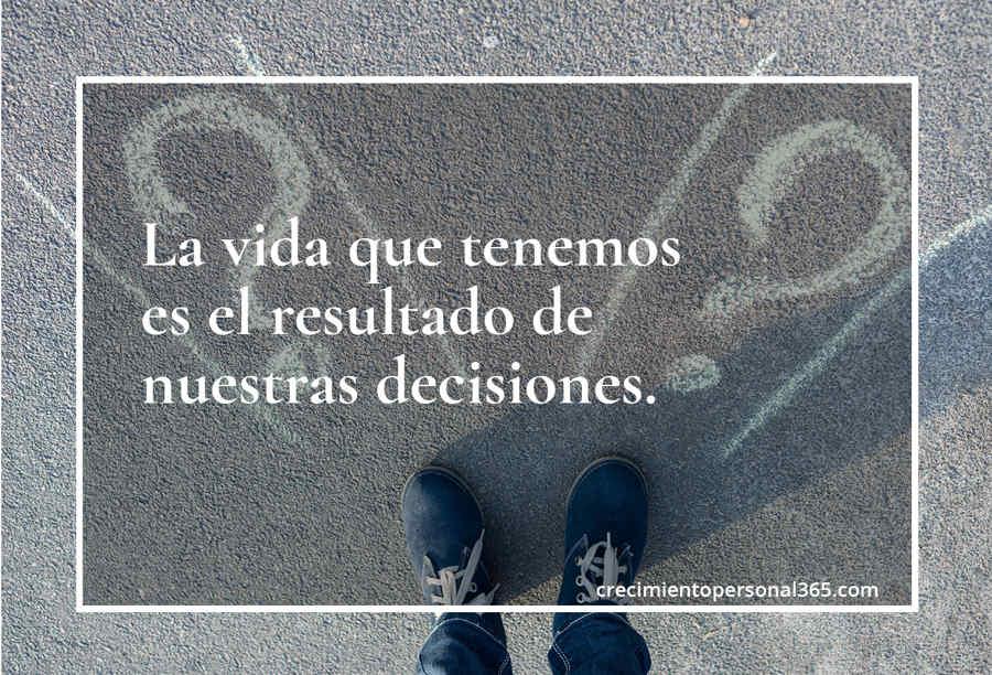 Tomar buenas decisiones